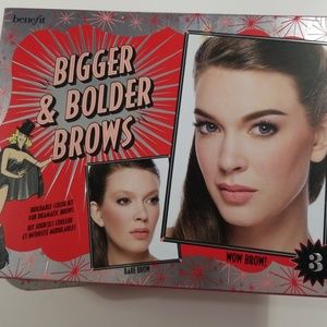 Benefit Bigger & Bolder Brows set